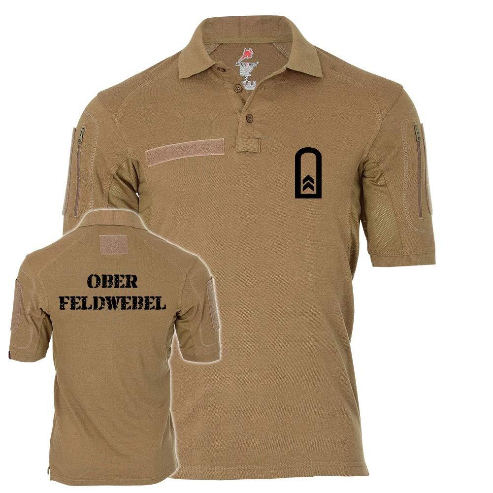 Copytec Tactical Poloshirt Alfa - Oberfeldwebel OFw of Dienstgrad BW Abzeichen  19268