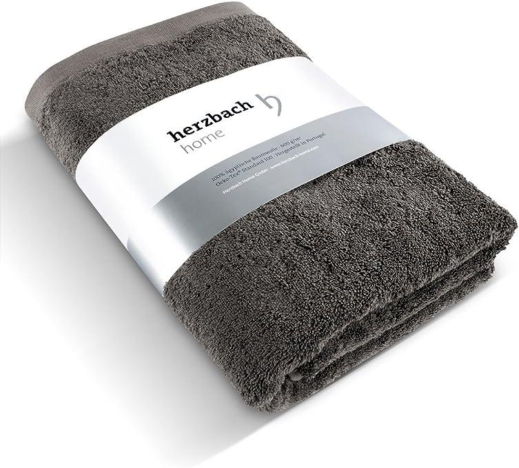 Herzbach Home - Toalla de calidad superior, 100 % algodón egipcio ...