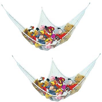 prince lionheart jumbo toy hammock   set of 2 amazon     prince lionheart jumbo toy hammock   set of 2   crib      rh   amazon