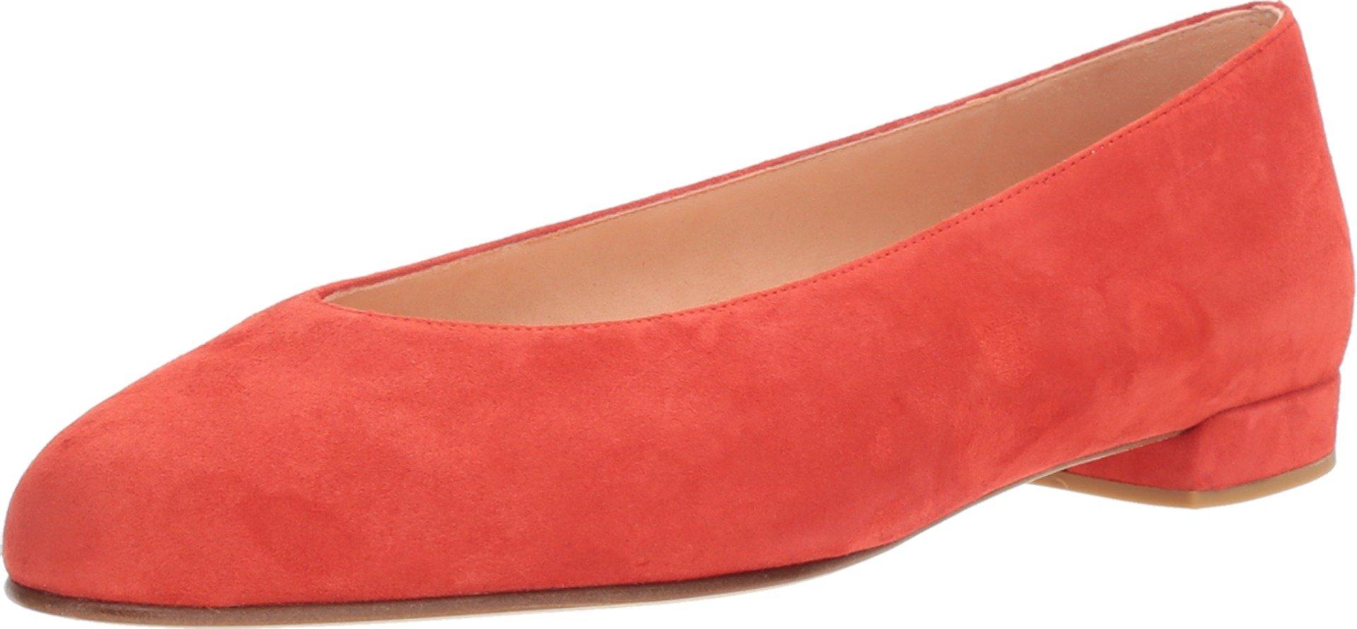 Stuart Weitzman Women's Chicflat Pimento Suede Shoe