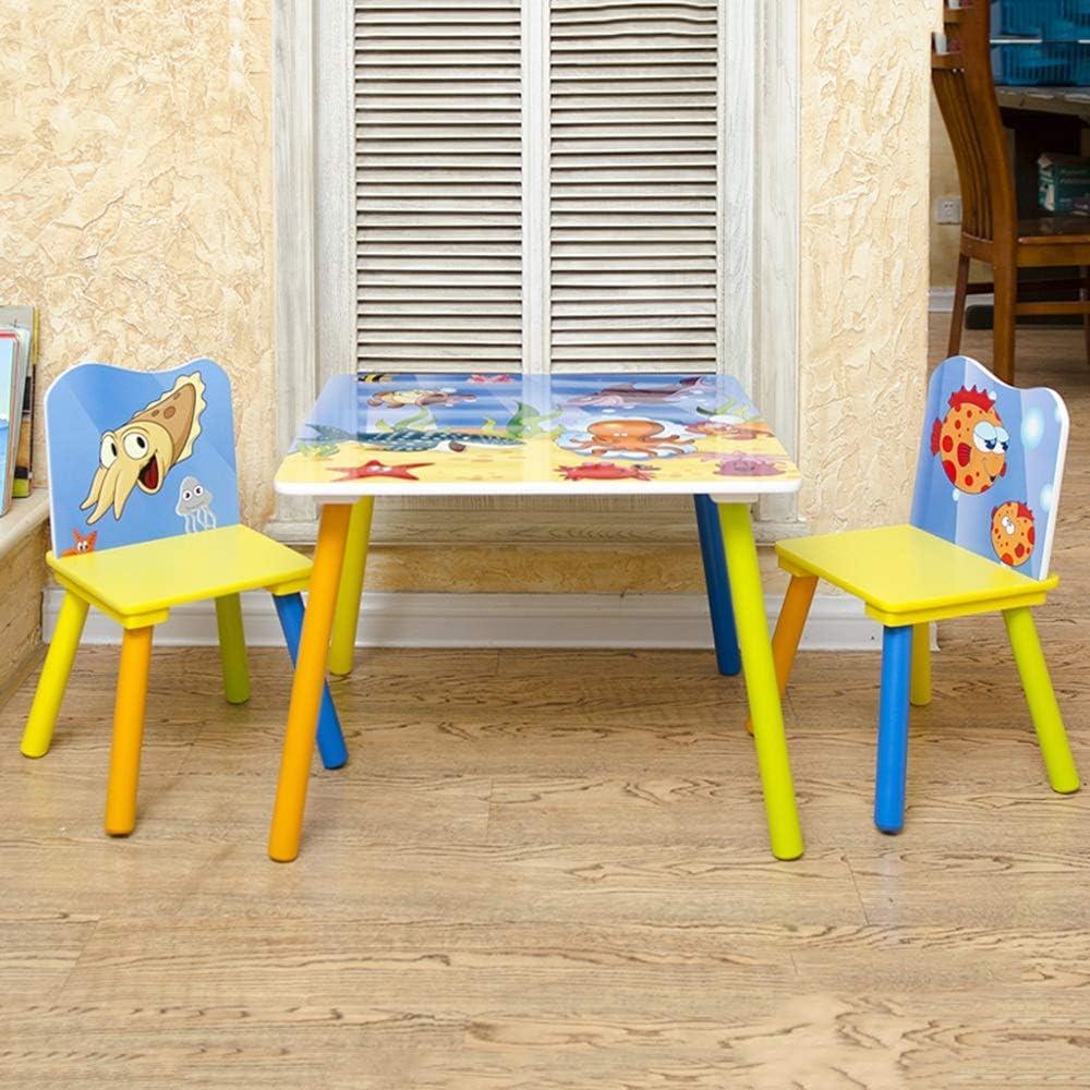 Escritorio para Niños con Silla Mesa de Lectura Tabla muebles de niño y Juego de sillas for la lectura de jugar a las sillas Actividad Sala Aula for niños pequeños Ideal para