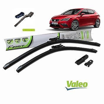 Valeo_group Valeo Juego de 2 escobillas de limpiaparabrisas Especiales para Seat Leon | 600/400