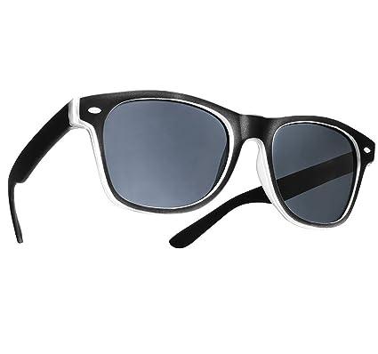 Damen Herren Lesebrille Sonnenbrille +1.5 +2.0 +3.0 +4.0 Sun Readers Perfekt für den Urlaub Retro Vintage Brille MFAZ Morefaz Ltd (+4.00, Panther)