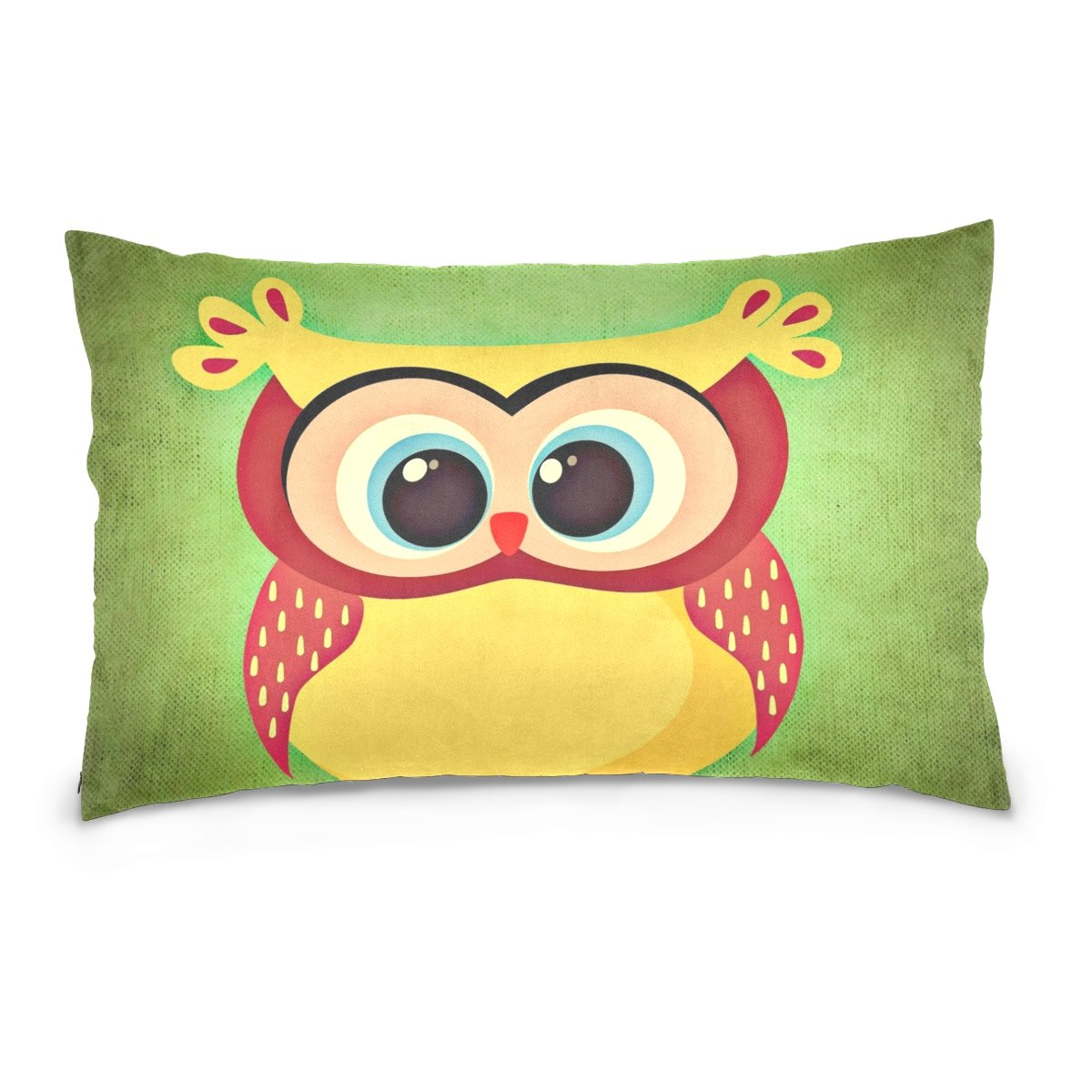 THENAHOME Pillow Covers Pillow Protectors Bed Bug Dust Mite Resistant Standard Pillow Cases Cotton Sateen Allergy Proof Soft Quality Covers with Animal Owl for Bedding