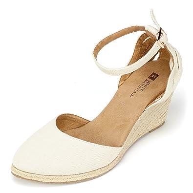 89d99742df3f1 White Mountain Women's Cisco Espadrille Sandal