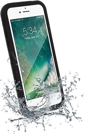 Akashi - Cover iPhone 7 Plus,Cover Impermeabile iPhone 8 Plus[IP68 Certificato Waterproof] Full Body con Antiurto Antineve Antipolvere AntiGraffio ...