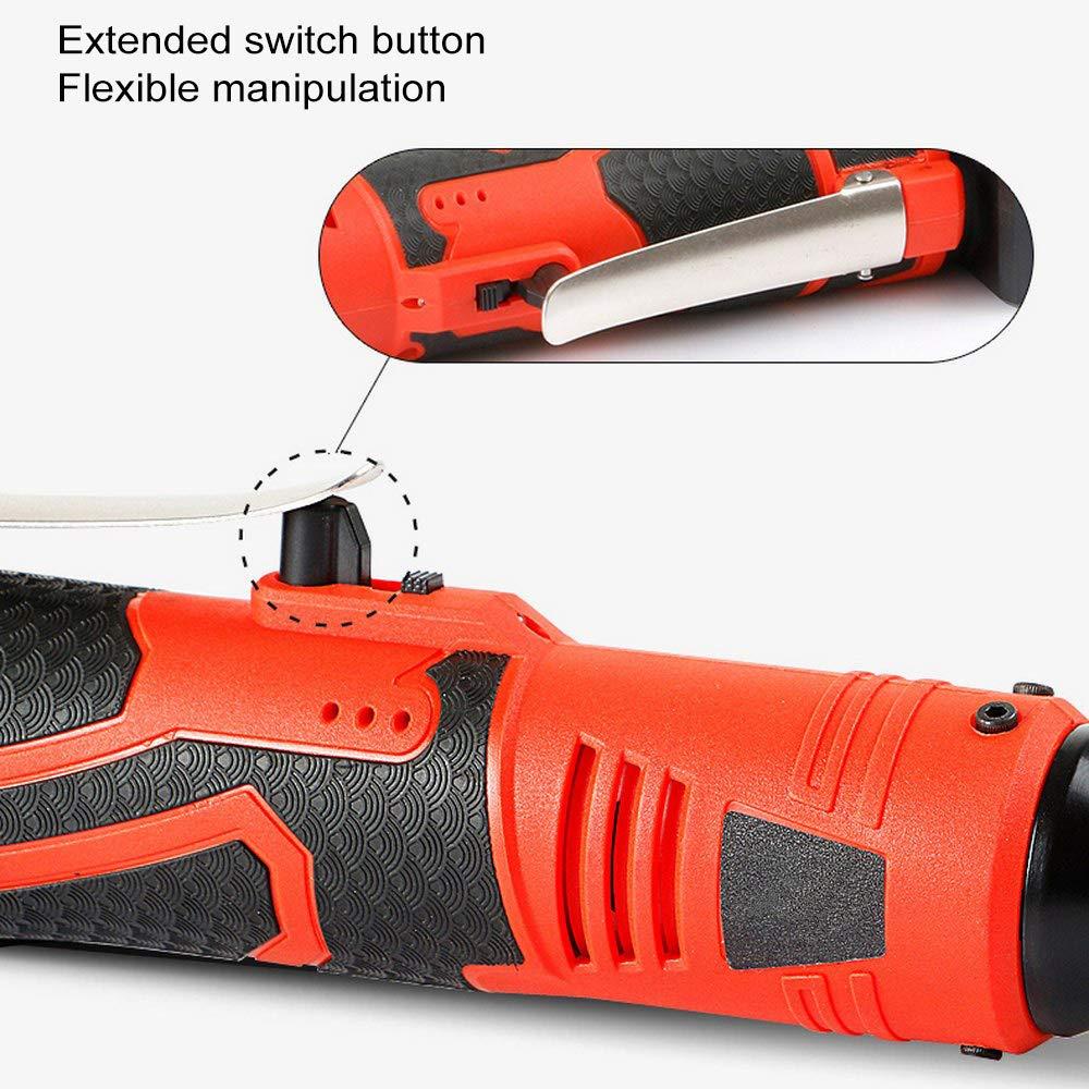 Llave de impacto el/éctrica de 26V,el/éctrica Llave de trinquete el/éctrica inal/ámbrica,Bater/ía de iones de litio Led Luz de trabajo Llave