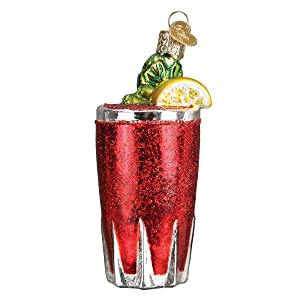 Old World Christmas Glass Blown Ornament Bloody Mary (32269)