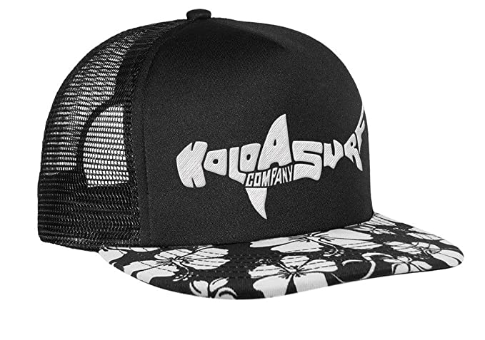 c726e7ea80f Koloa Shark(tm) Mesh Back Trucker Hat Aloha Hawaiian Shark Logo at ...