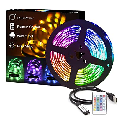 Energy Class A+++ 32.8ft//10m RGB Colour Changing Lighting Strip with Remote Control 5050 LED Tape Lights Rope Light Dimmable Mood Lighting for Home TV Kitchen DIY Decoration FANSIR LED Strip Lights