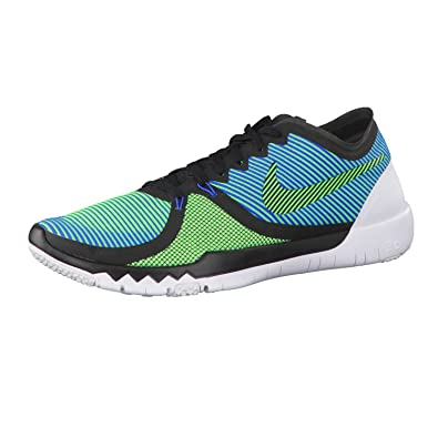 best website 66e42 ea4b4 Image Unavailable. Image not available for. Color  NIKE Men s Free Trainer  3.0 V4 Black Green ...