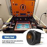 Nilight 90013L 12PCS Round Toggle LED Switch 12V