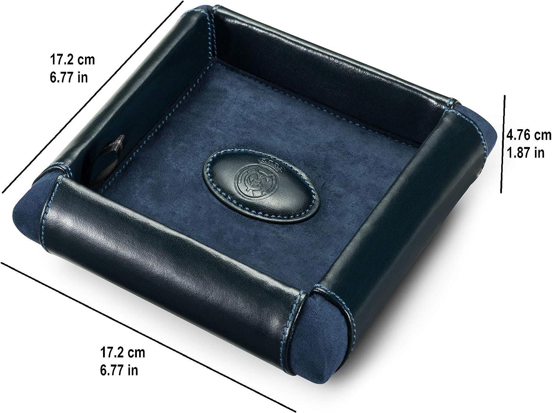 Vide-poches fait /à main en cuir Qualit/è Premium Real Madrid RMJ-80018