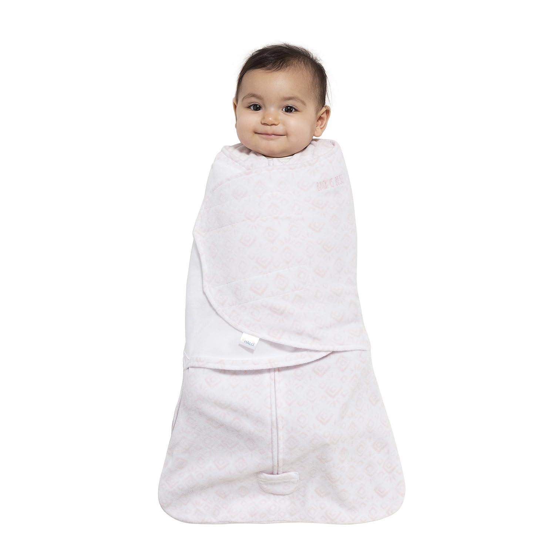 Halo Innovations SleepSack Swaddle Pink Micro Fleece