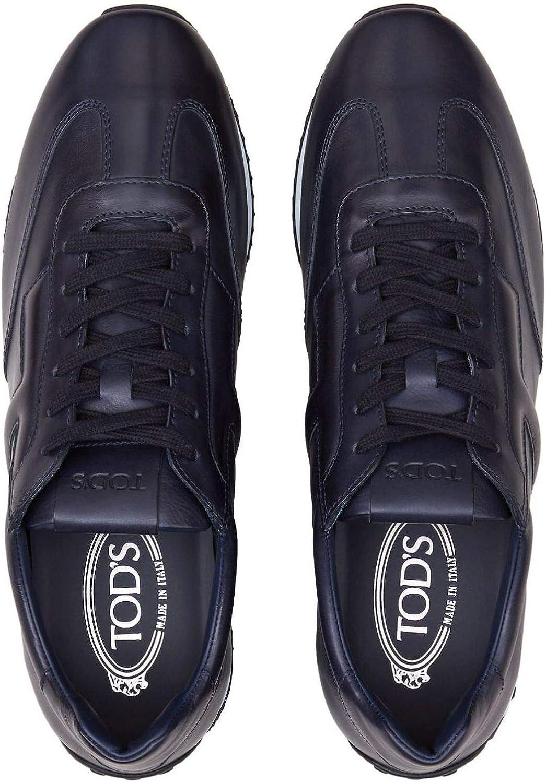 Tod's - Sneakers in Elegant Dark Blue Smooth Leather - XXM70A0AB30DVRU820 Bleu