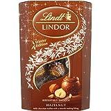 Lindt Lindor Winter Edition Smooth Hazelnut Milk Chocolate Truffles 200gm