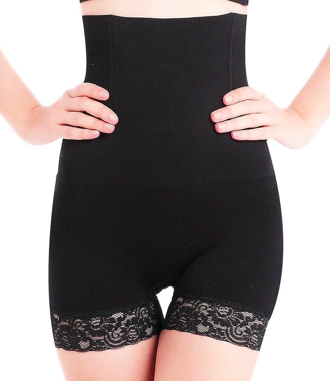 SEXYWG Hi-Waist Shapewear Seamless Butt Lifter Shaper Thigh Slimming Boyshort Panty Tummy Control Underwear Women 836-EUTS