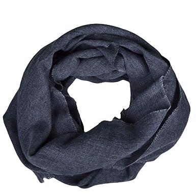 Ralph Lauren Echarpe luxueuse grise en laine et lin pour homme  Amazon.fr   Vêtements et accessoires 4101408ff76