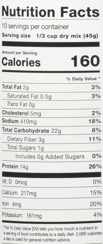 P28 453 G de trigo sarraceno Buttermilk Pancake Mix