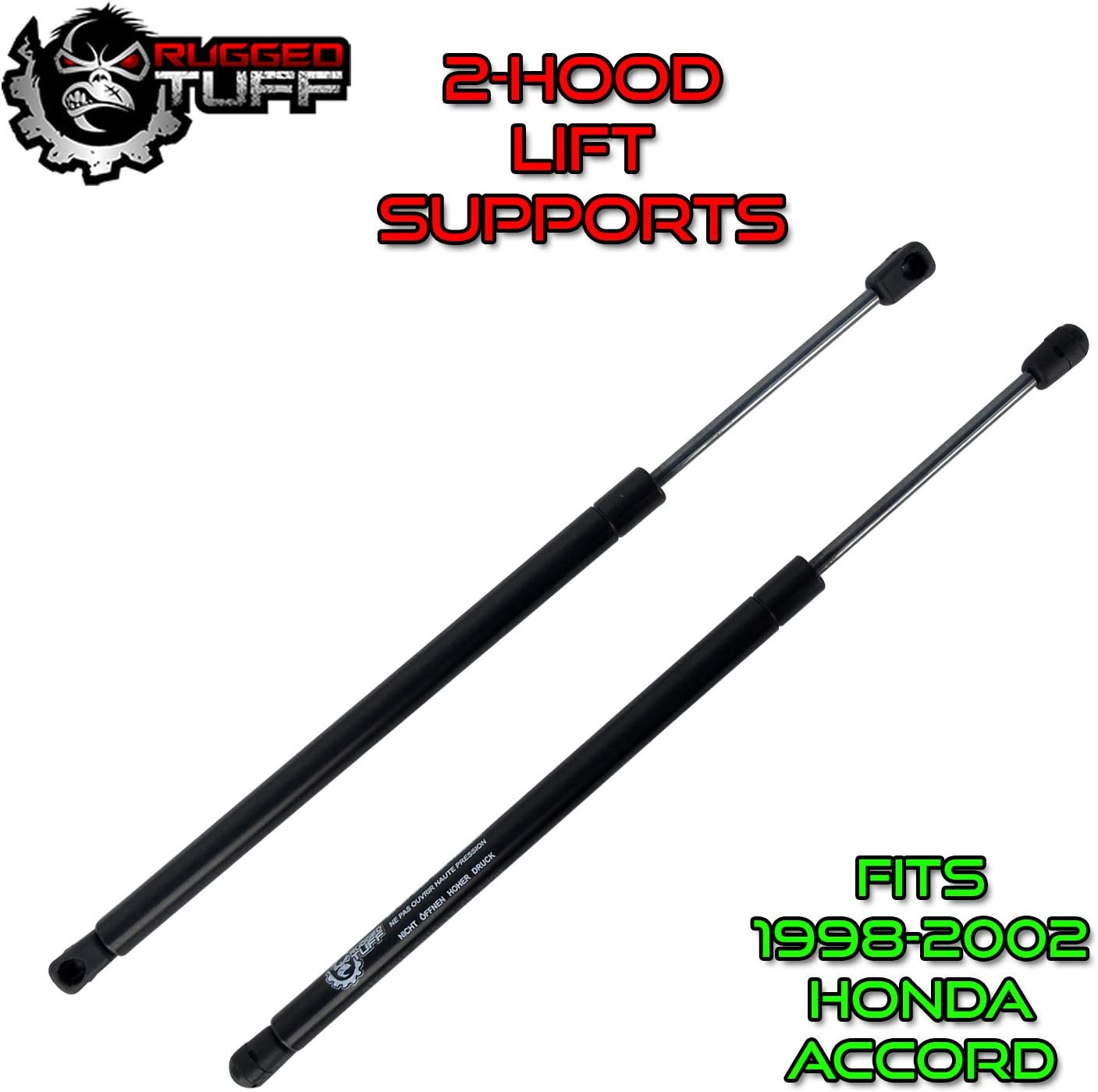 Vepagoo Front Hood Lift Supports for Acura TL 2004-2005 Gas Charged Hood Lift Support Shock Strut Set of 2