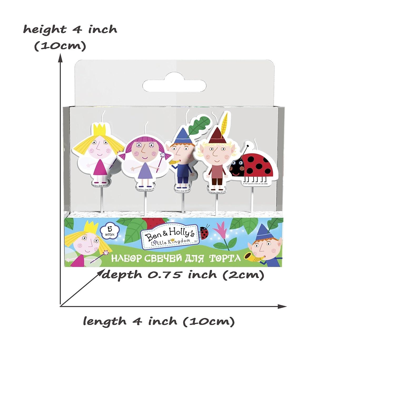 Amazon.com: Kingdom moldeado Pick Set de velas (5pcs ...