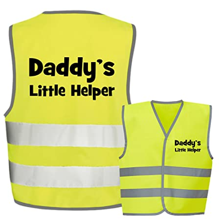 Childrens Kids High Visibility Hi Vis Viz Waistcoats En1150 Personal Protective Equipment (ppe)
