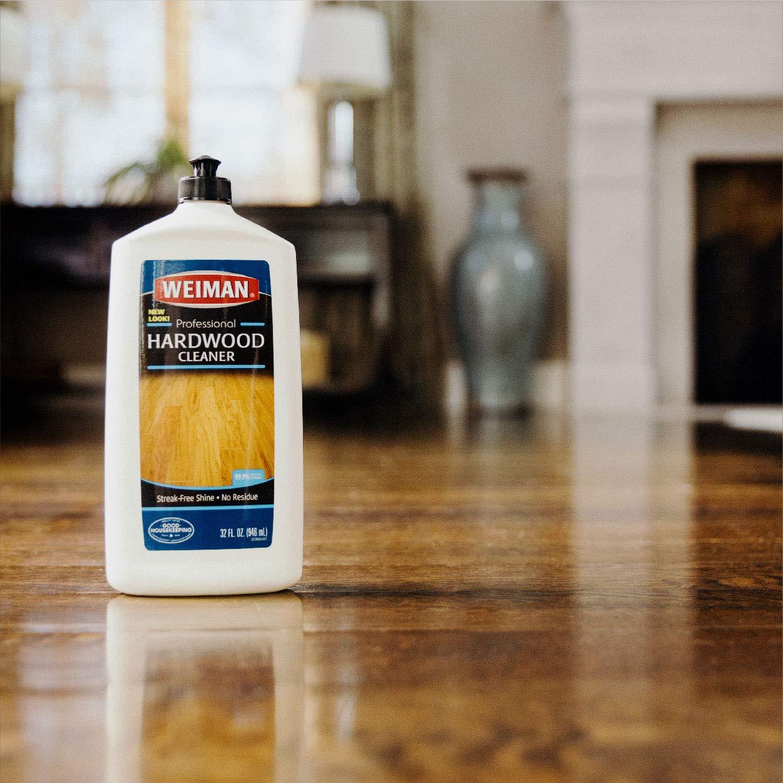 Weiman Wood Floor Cleaner 32 Ounce For Hardwood