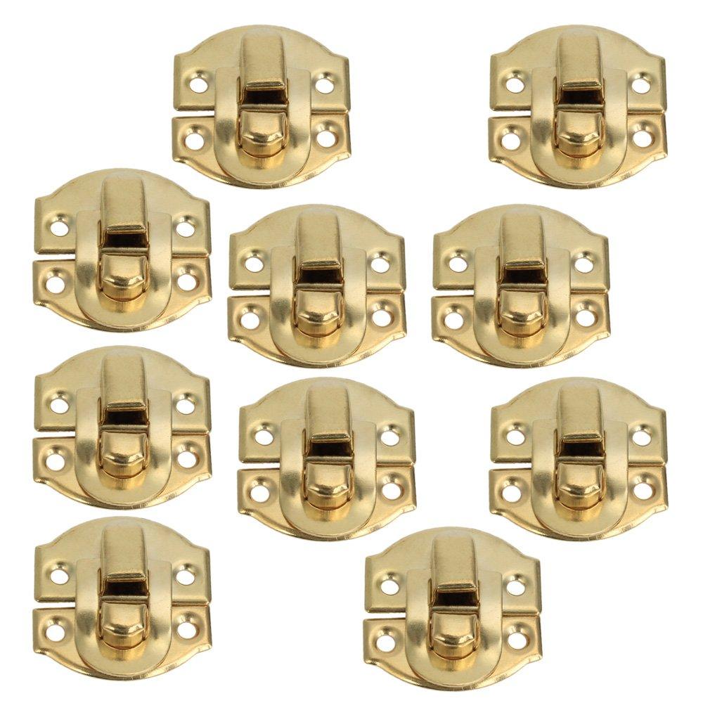 BQLZR Gelb Mini Spannverschluss Buckle Schnappverschluss fü r Schrä nkchen Schublade BQLZRN12892