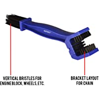 Autofy Universal Motorcycle / Cycle Chain Cleaner Brush for Bikes