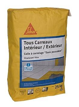 Sikaceram Xtra Colle A Carrelage Interieur Et Exterieur Pour
