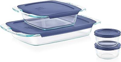 Pyrex Grab Glass Bakeware and Food Storage Set