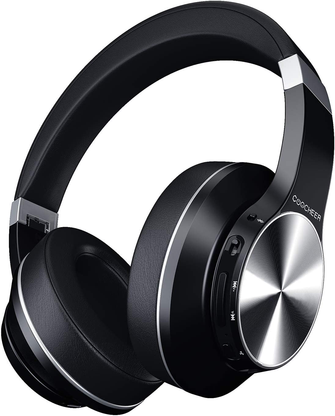 Active Cancelación de Ruido y Bluetooth, Auriculares Inalámbricos Auriculares Bluetooth con Micrófono Hi-Fi Deep Bass para iOS, Android, Computadora y TV