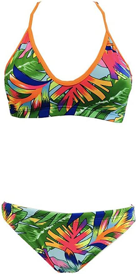 Turbo Bikini Tropical (Mare) Mix & Match swimkini – Top + Slip por ...