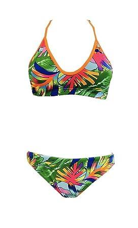 Turbo Bikini Tropical (Mare) Mix & Match swimkini – Top + Slip por separado