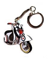 Vespa Mod Scooter Key Ring - MS14