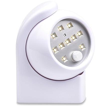 Sensor de movimiento luz nocturna para pasillo, escaleras, armario, dormitorio, cocina y