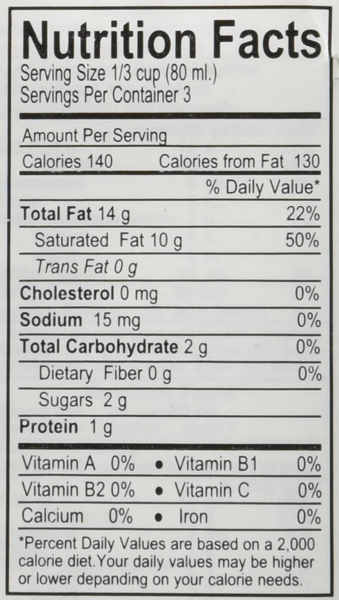 100% Coconut Milk - 8.5 Oz Packages (18-pack) by Aroy-D (Image #2)