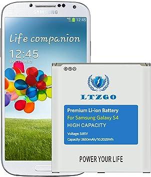 LTZGO Batería Compatible con Samsung Galaxy S4, 2650 mAh Batería ...