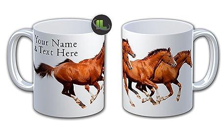 HORSE personalised Mug Cup. YOUR NAME Printed MUG Coffee Tea Cup ...