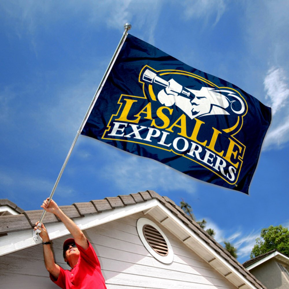 Lasalle Explorers University Large College Flag