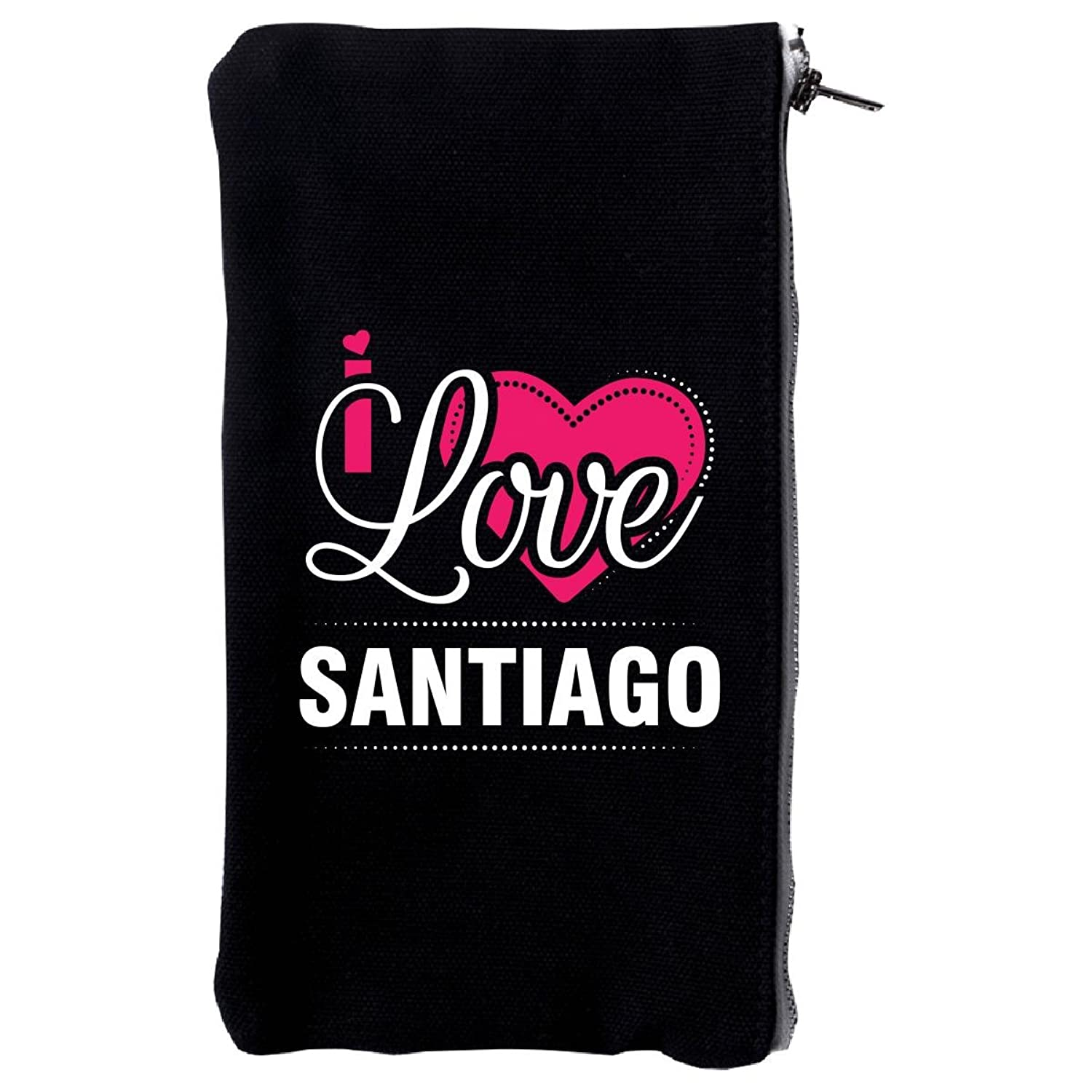 I Love Santiago - Cool Gift For Santiago From Girlfriend - Make Up Case