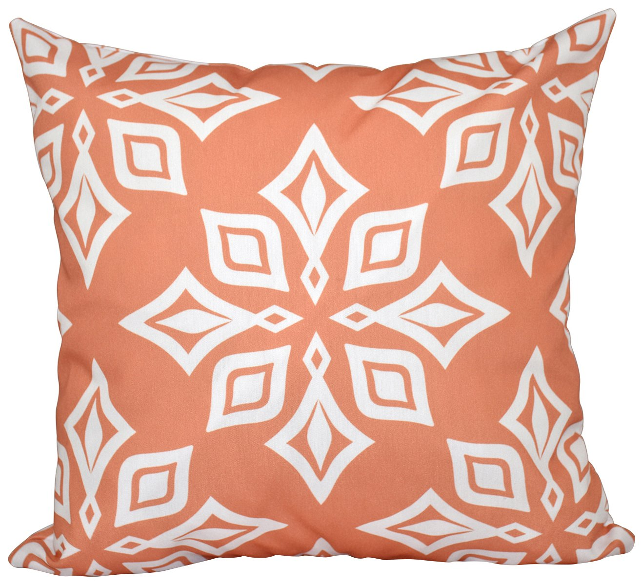 E by design O5PGN480OR10-18 Printed Outdoor Pillow