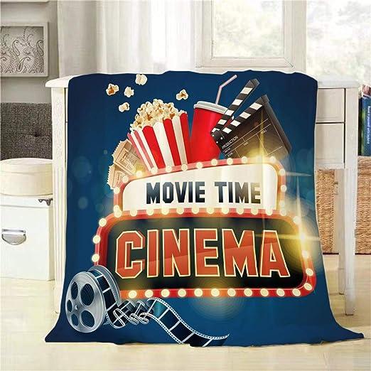 Póster de la película Mugod Cinema, manta de palomitas de ...