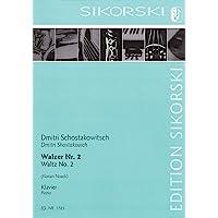 Waltz No. 2: Arranged for Solo Piano
