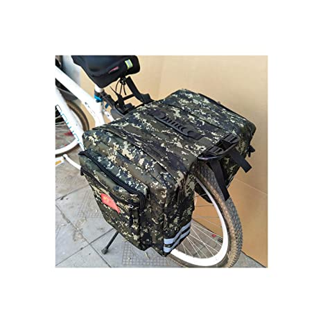 Mountain Road Bike Bag Bicycle Double Side Rear Rack Tail Seat Bags Pannier