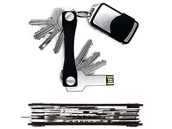 Stainless Steel Portable Key Holder Organizer Keychain  Pocket Multi Tool