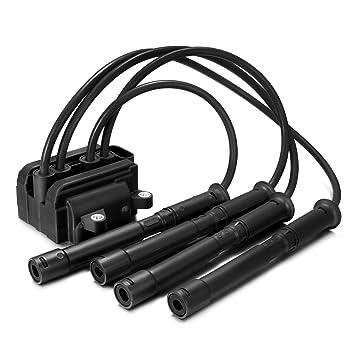 Paquete de cables de encendido Dromedary para bujías 8200084401 1.2 16 V: Amazon.es: Coche y moto