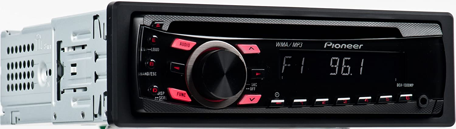 amazon com pioneer deh 1300mp cd receiver with mp3 wma playback and rh amazon com Pioneer Deh 1300Mp Owner's Manual Pioneer Deh 1300Mp Wiring-Diagram