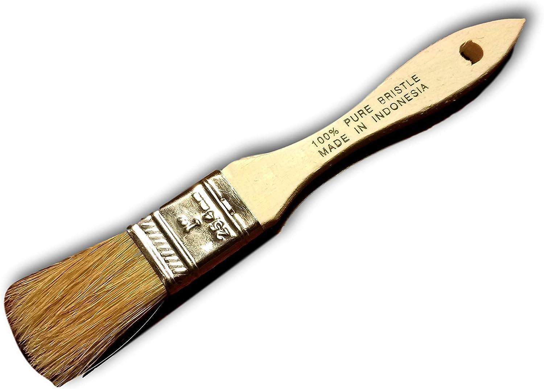 "36 pc 2/"" Chip Brush Brushes  Paint Glue Touchups 100/% Pure Bristle"