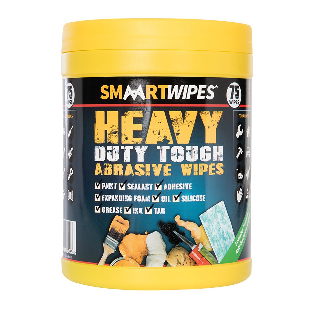 Smaart 998146 Heavy Duty Tough Abrasive Wipes Pack of 75